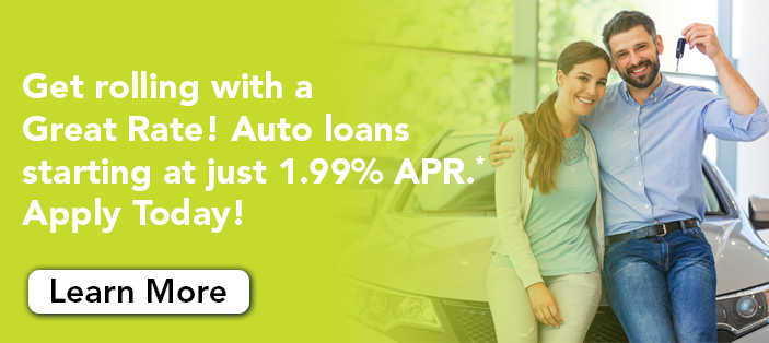 Auto Loan Rates as low as 1.99%