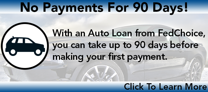 Take Up To 90 Days Before 1st Auto Loan Payment