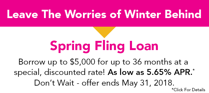 Learn more about the Spring Fling loan