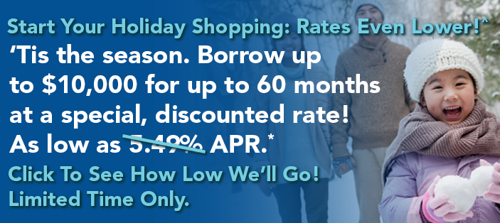 Flash sale on Winter Wonderland Loan. Rates as low as 4.49% APR.