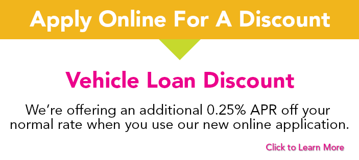 Receive Auto Loan Discount When You Apply Online