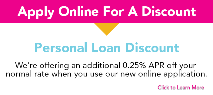 Personal Loan Discount Banner